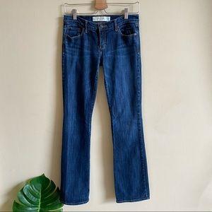 ABERCROMBIE & FITCH Emma Perfect Stretch Bootcut Jeans Denim 2 L
